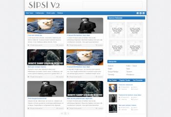Sipsi v2 SEO Uyumlu, Hızlı ve Sade WordPress Teması