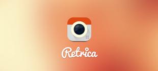 En Popüler Kamera Uygulaması Retrica İndir