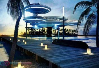 Harikalar Diyarında Bir Denizaltı Oteli